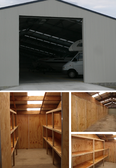 Self storage units in Southland