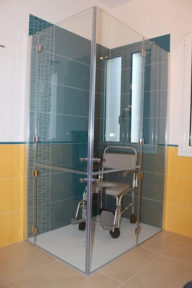 Box doccia per disabili - Palermo - F.B.D.