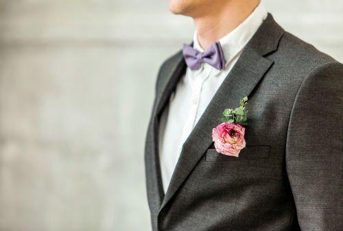 modello con vestito da nozze