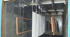 impianto verniciatura polvere