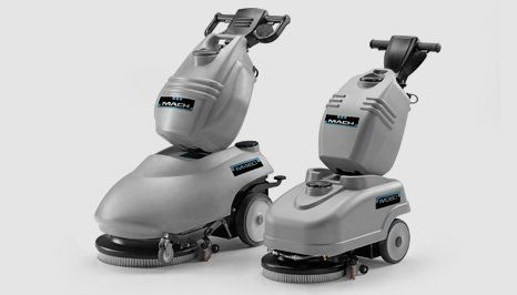 M360 and M340 scrubber dryers
