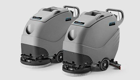 M500 and M550 scrubber dryers