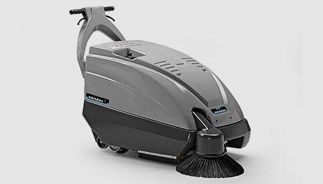 Mach 1 floor sweeper