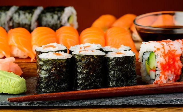 Sushi e sashimi per tutti i gusti