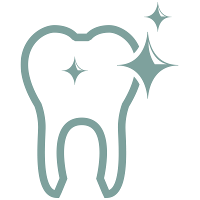 Shiny tooth icon