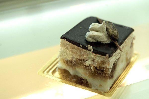 Una tortina al cioccolato