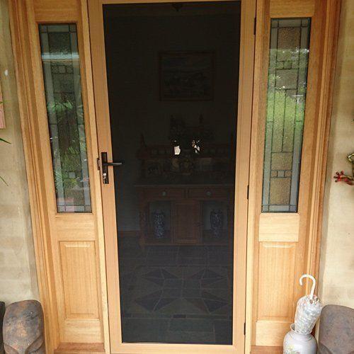 screen guard door