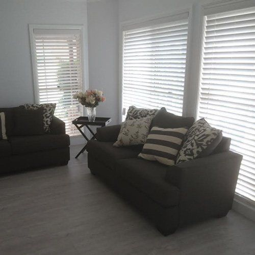 A home with Venetian blinds in Gregory Hills