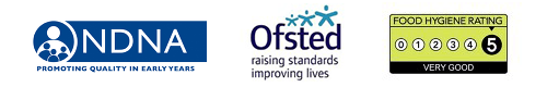 NDNA Ofsted logos