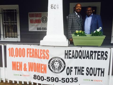 10000 Fearless Men & Women Headquarters of the South