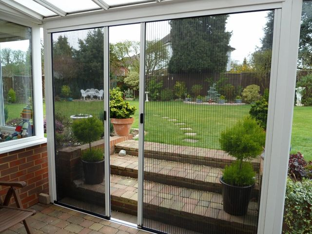 Retractable Fly Screen Doors