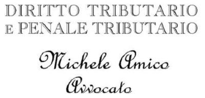 AVVOCATO TRIBUTARIO MICHELE AMICO_logo