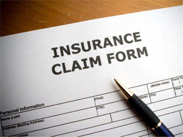 Boat damage insurance claim handling