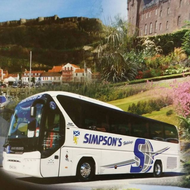 Coach for UK and Europe tours