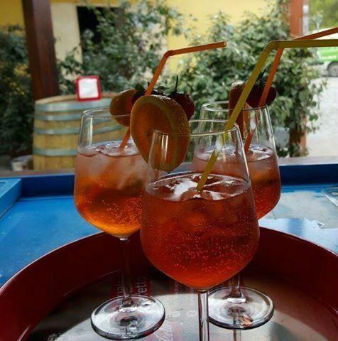 Tre cocktail spritz