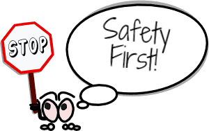 safety first cartoon