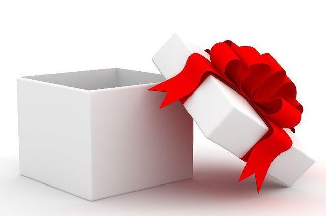 donation gift box