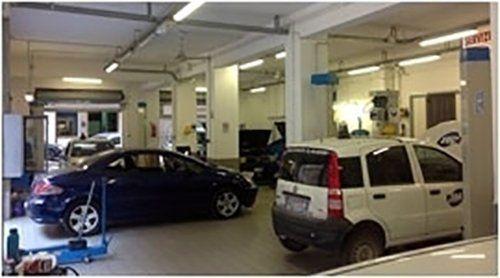 Macchine in autofficina