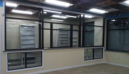 Office room glass complete service done by our team in Greensboro, NC