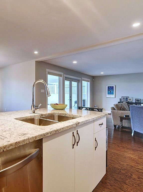 An example of a beautiful countertop in Victoria, BC, maintained with care