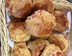 Fresh scones from our bakery in Cleveleys