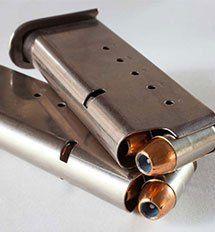 gun clip, bullets