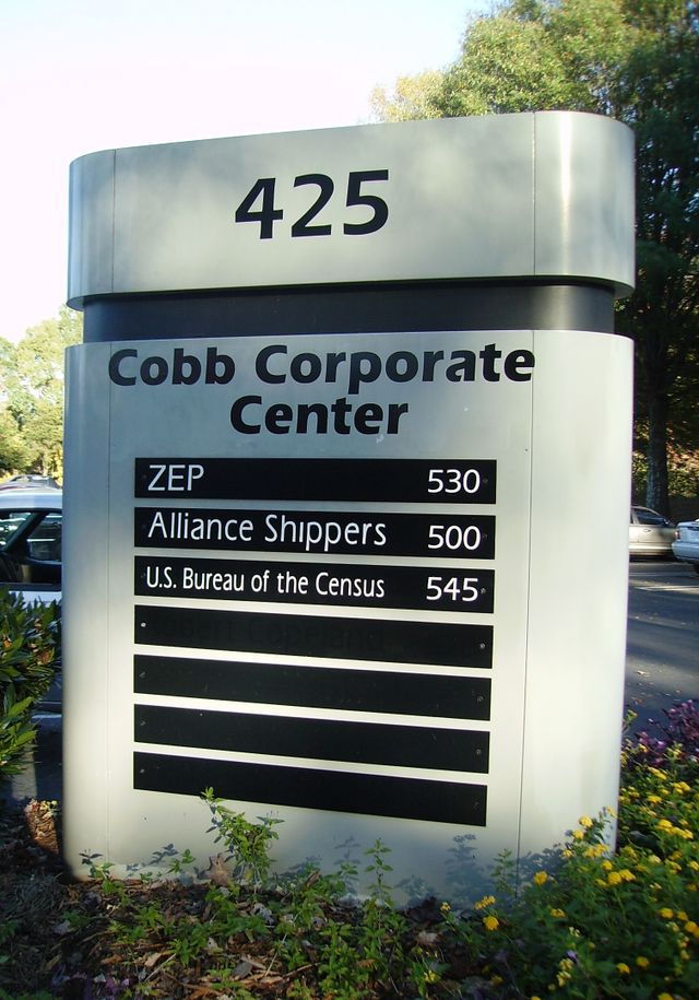 We Offer Custom Monument Signs