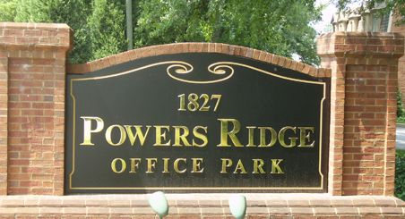 We Offer Monument Signs in Marietta