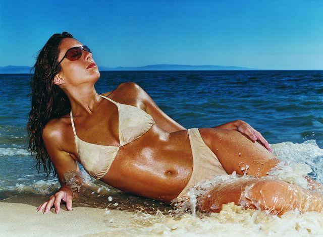 healthy tan