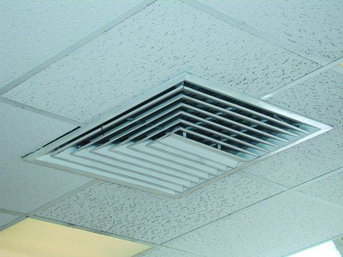 Air conditioner duct vent