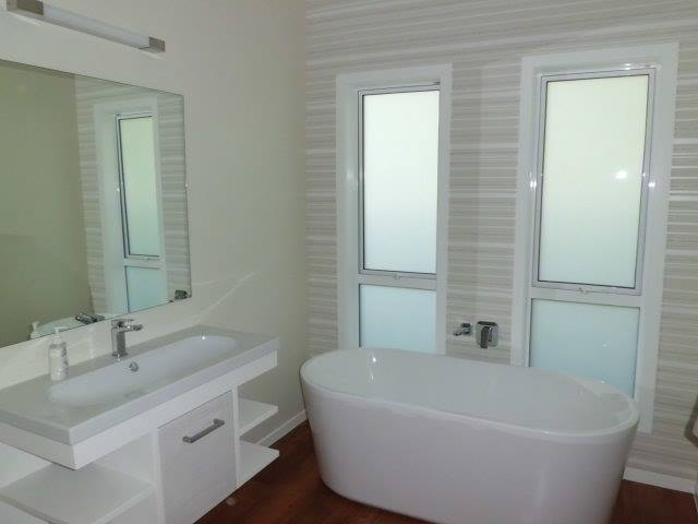 Newly built bathroom by Fineline Construction in Carterton