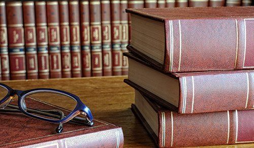 Law books for consultation in Kalispell, MT
