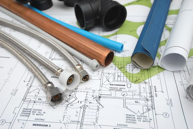 drain laying plans