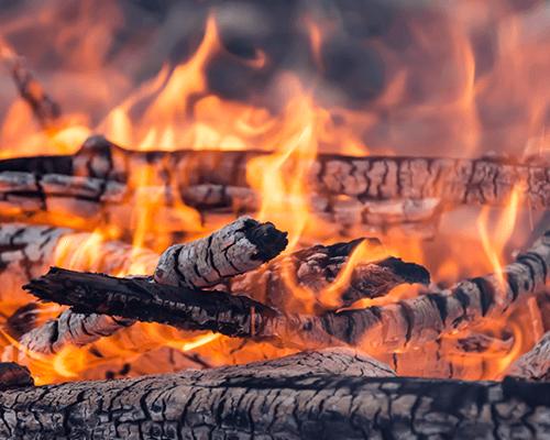 della legna a fuoco