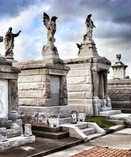 French Quarter Haunted Houses — Cemetery in New Orleans, LA