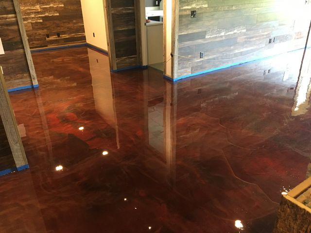 ... Floor With Epoxy But It Is One Of The Most Durable And Easy To Clean  Options Available, And With Our Many Color And Style Options, ...