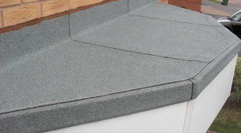 refurbished flat roofing