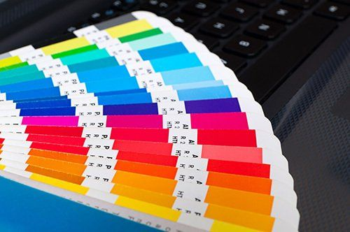 Color chart for print