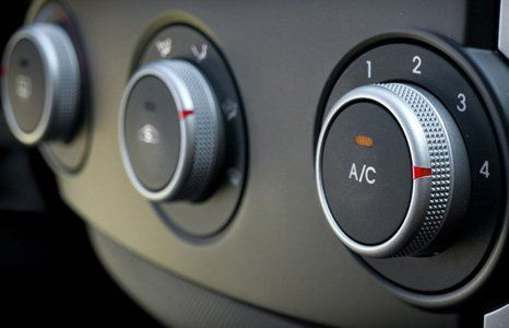 Car AC controls