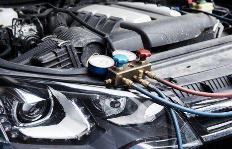 Internal parts of a car