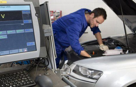 Computerised car diagnostics