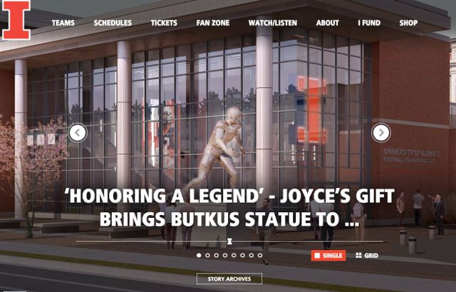 49d6b525770 'Honoring a Legend' – Joyce's Gift Brings Butkus Statue to Reality