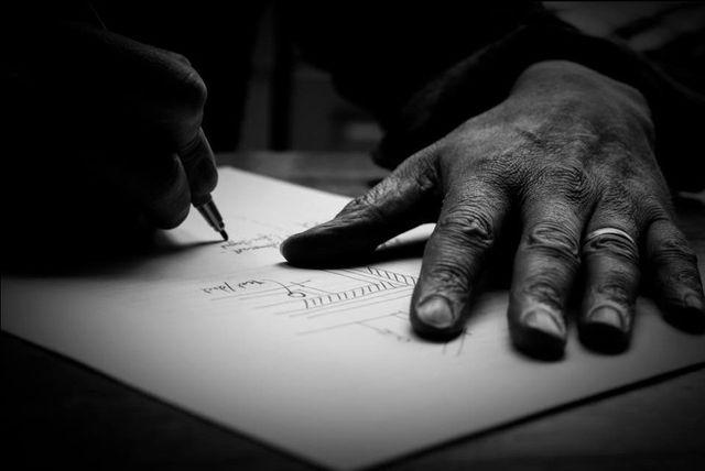 preparing working drawings