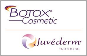 Logos of Botox Cosmetic and Juvederm