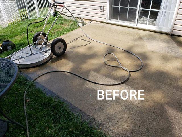 Concrete Pressure Wash | Bethalto, Illinois | Diversified Pressure