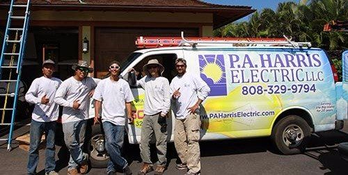 Team of residential and commercial workers in Kailua-Kona, HI