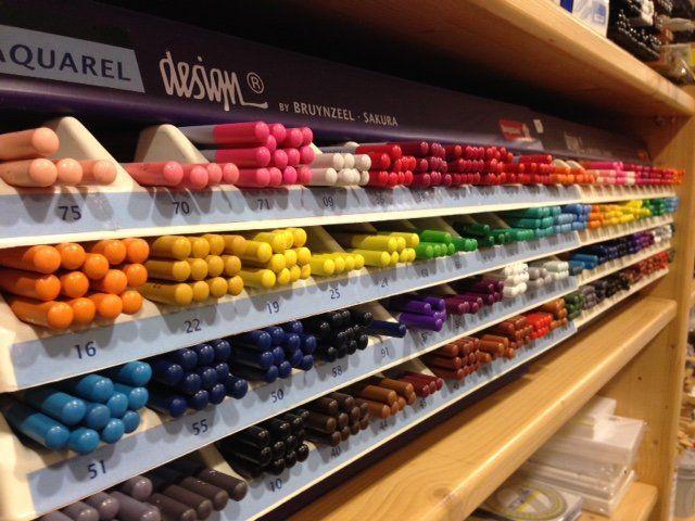 assortimento pannelli colorati