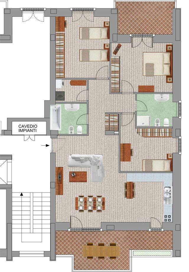 Tipologia Appartamento 1