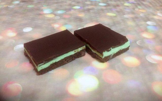 Double chocolate mint bar