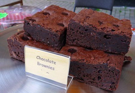Chocolate Gluten Free Brownies.